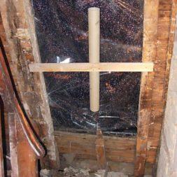 dscn5554 - Der Einbau der Dachfenster-Abriss der Gauben