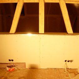 dscn5705 - Gipswände verspachteln und Fachwerk einbinden in der Küche