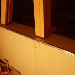 dscn5706 - Gipswände verspachteln und Fachwerk einbinden in der Küche