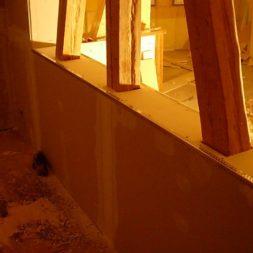 dscn5708 - Gipswände verspachteln und Fachwerk einbinden in der Küche