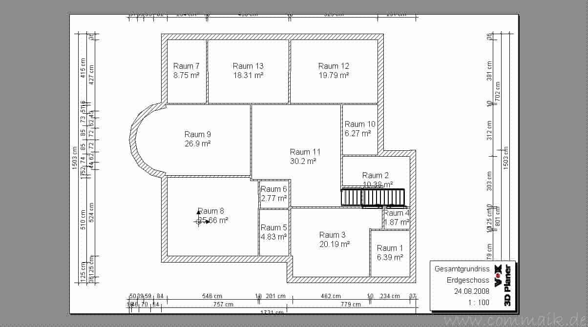 Bestandsaufnahme Teil 4 – Das Erdgeschoss