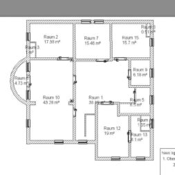 haus og komplett neu1 - Das Wohnzimmer vor Baubeginn