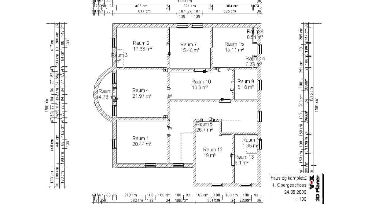 Bestandsaufnahme Teil 5 – Das Obergeschoss II